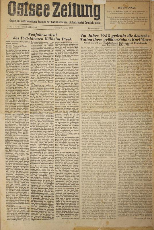 Wismar Zeitung: Ostsee-Zeitung