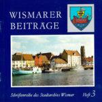 Wismarer Beiträge Heft 3