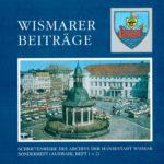 Wismarer Beiträge Sonderheft, Auswahl Heft 1+2